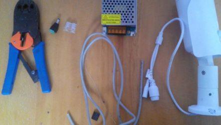 Подключение IP камер видеонаблюдения своими руками