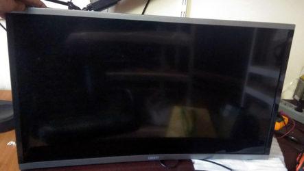 Ремонт телевизора с вогнутым экраном Liberty LD-3226 (шасси TP.MS338.PB801).