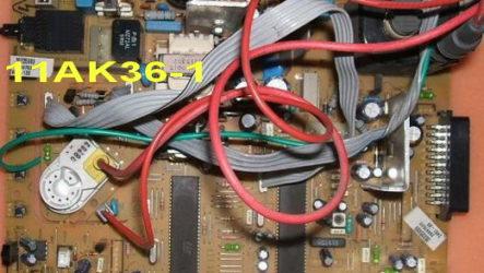 Схема шасси 11AK36-1