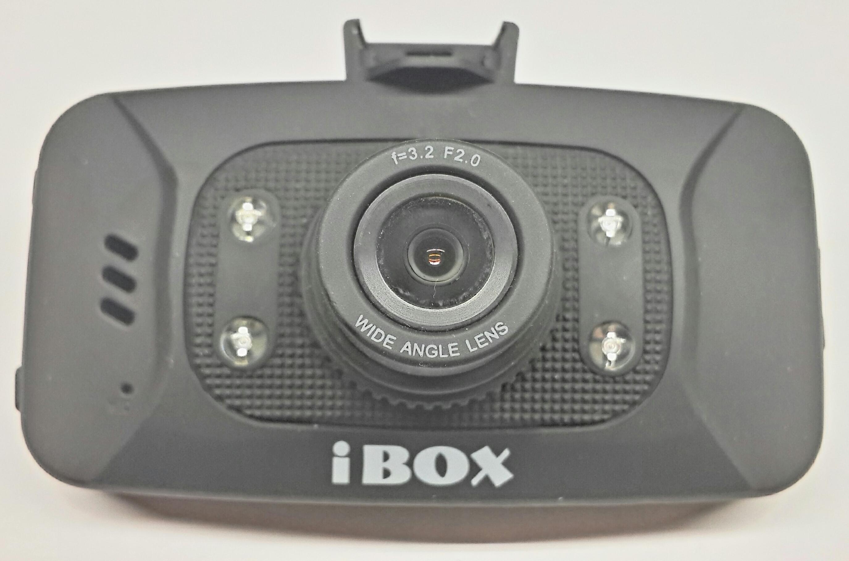 Видеорегистратор iBOX Z-707. Вид спереди