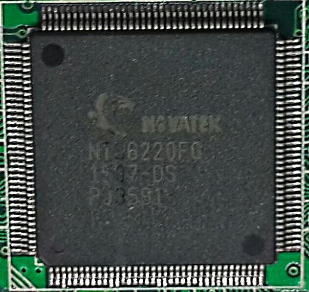 Процессор NOVATEK NT96220FG.