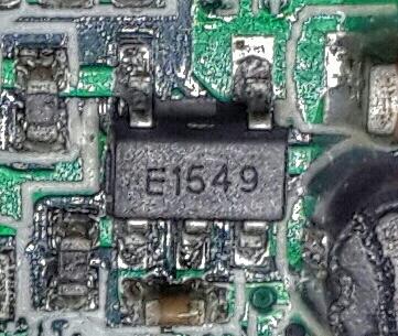 E1549 Корп.SOT-23 DC-DC.