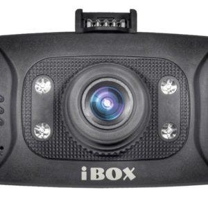 Видеорегистратор iBOX Z-707 (GI8000). Экран светится белым цветом.