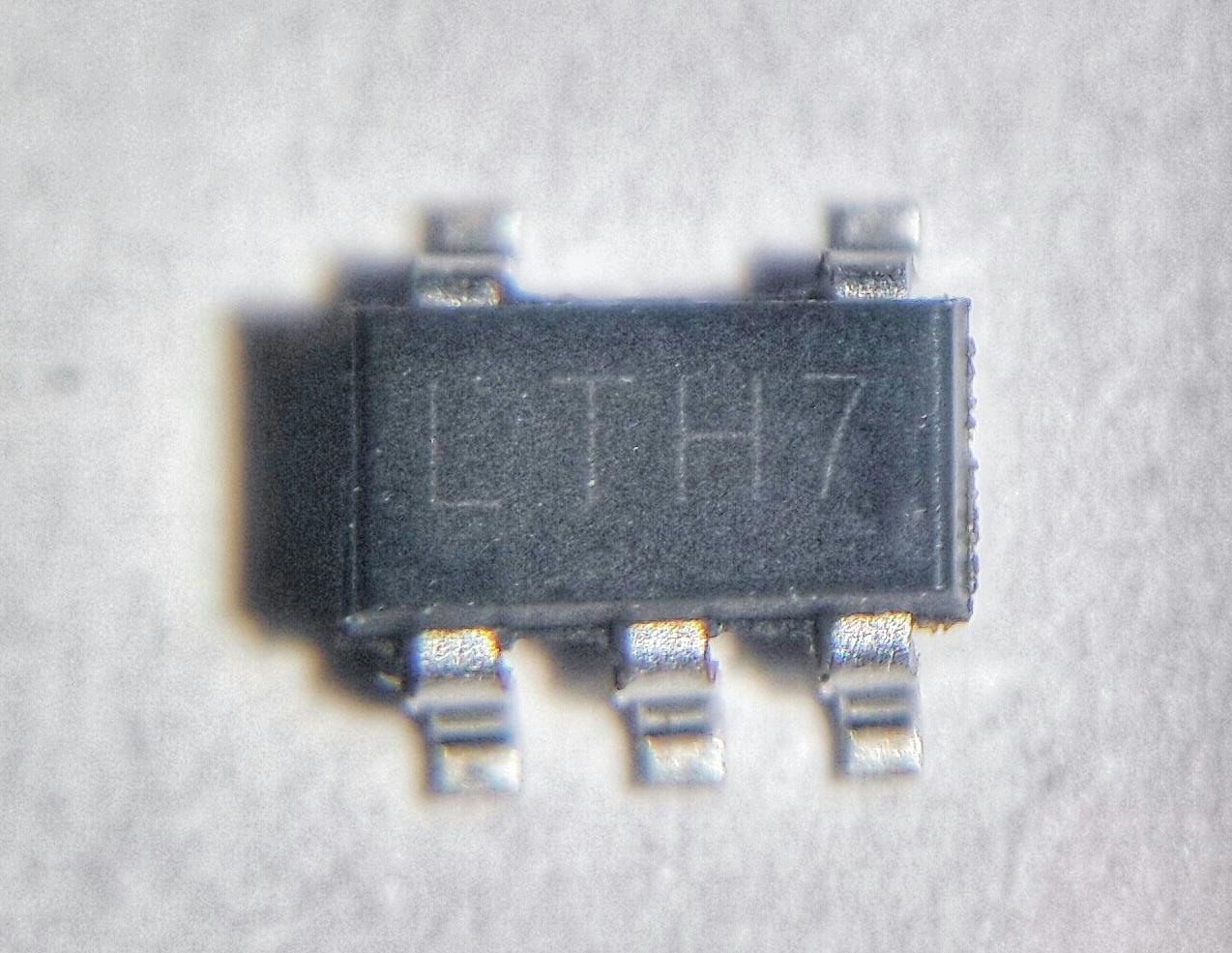 Контроллер заряда батареи LTC4054 (LTH7)